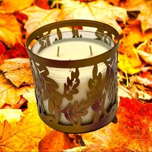 🍁Fall leaves candle holder!🍁NWT